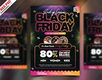 Premium Black Friday Sale Flyer PSD