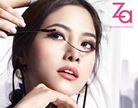Shiseido Japan Za Cosmetic Product Prints