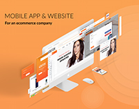 Website & Mobile screens (Download Free PSD)