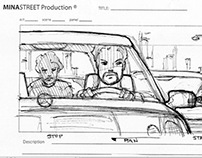 Blood Taxi - Storyboards