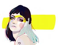 Grimes (Animated GIF)