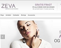 Zeva Smykker - Design a new website