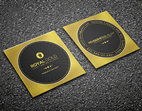 Mini Royal Gold Business Card