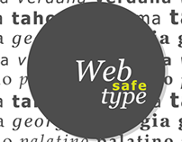Web Safe Type Specimen