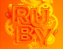 Ruby by cinema 4d