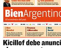 Bien Argentino - Newspaper Design