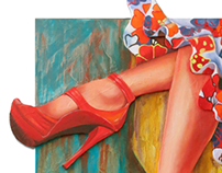 New Red Shoes | Painting