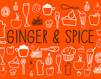 Ginger & Spice's brand identity