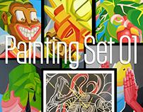 Painting Set 01