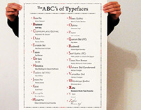 The ABC's of Typefaces