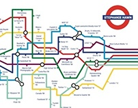 London Underground - Timeline of My Life