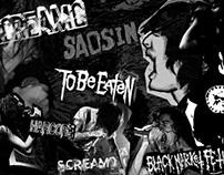 Screamo Moodboard / Photo Manipulation