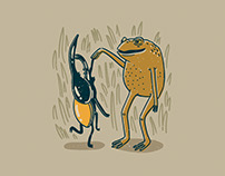 Muggy Dances Illustration