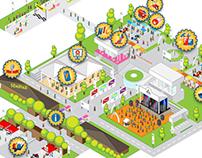 M-Fest 2013 Map