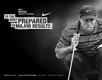 Nike Golf 2011 Masters Posters