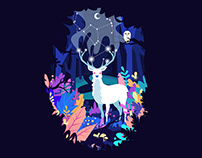 Deer of the Dream Forest