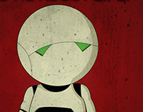 Marvin, the paranoid android