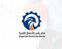 Saqeryas Technical Works Branding