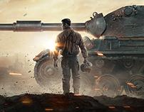 World of Tanks, Gamescom17, Key Art.