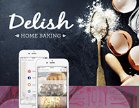 Delish //  Home Baking App