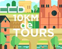 10km de Tours
