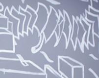 Mural Coala Filmes - Time lapse