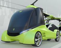 El-assist, recharging concept for electric cars