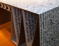 Write me cervantes, table