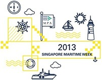 Singapore Maritime Week 2013 T-Shirt Design