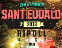 Cartell festa major Ripoll 2013