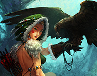 Card game illustrations