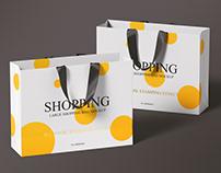 Large Shopping Bag Mockup