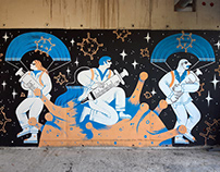 Mural Planet COVID-19