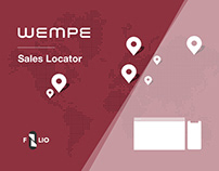 WEMPE / UX Project for Sales Locator