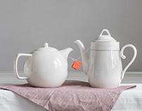 Still life with kettles