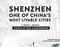 Travel Posters: Shenzhen, Hanoi, Macau, Hong Kong
