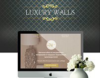 Landing page Luxury walls