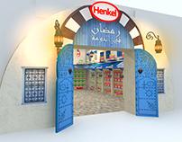 Henkel Ramadan supermarket Stand Exhibition