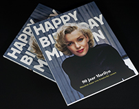 Exhibition campaign 90 Years Marilyn Monroe