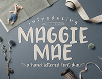 FREE Maggie Mae Font Duo