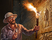 Illustrations for Call of Cthulhu pl edition - part 1