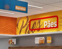 Barcelos Supermarket - Signage / Sinalização