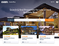 User Interface Proposal for a Real Estate in Costa Rica
