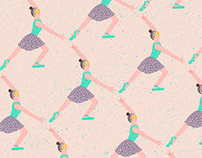 Ballerina , Daisy , Gesture & Repetitive graphics