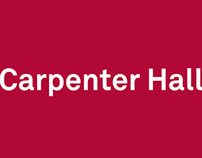 Carpenter Hall: Wayfinding & Branding
