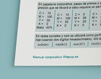 CORPORATE BRANDING | Wepop.es