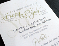 Stacey + Eli | Wedding Programs