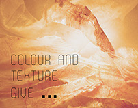 Different resources, colour and texture