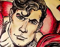 Superman Ilustration 2014 - Drawing