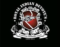 Royal Indian Devotes Logo (Bullet Group)